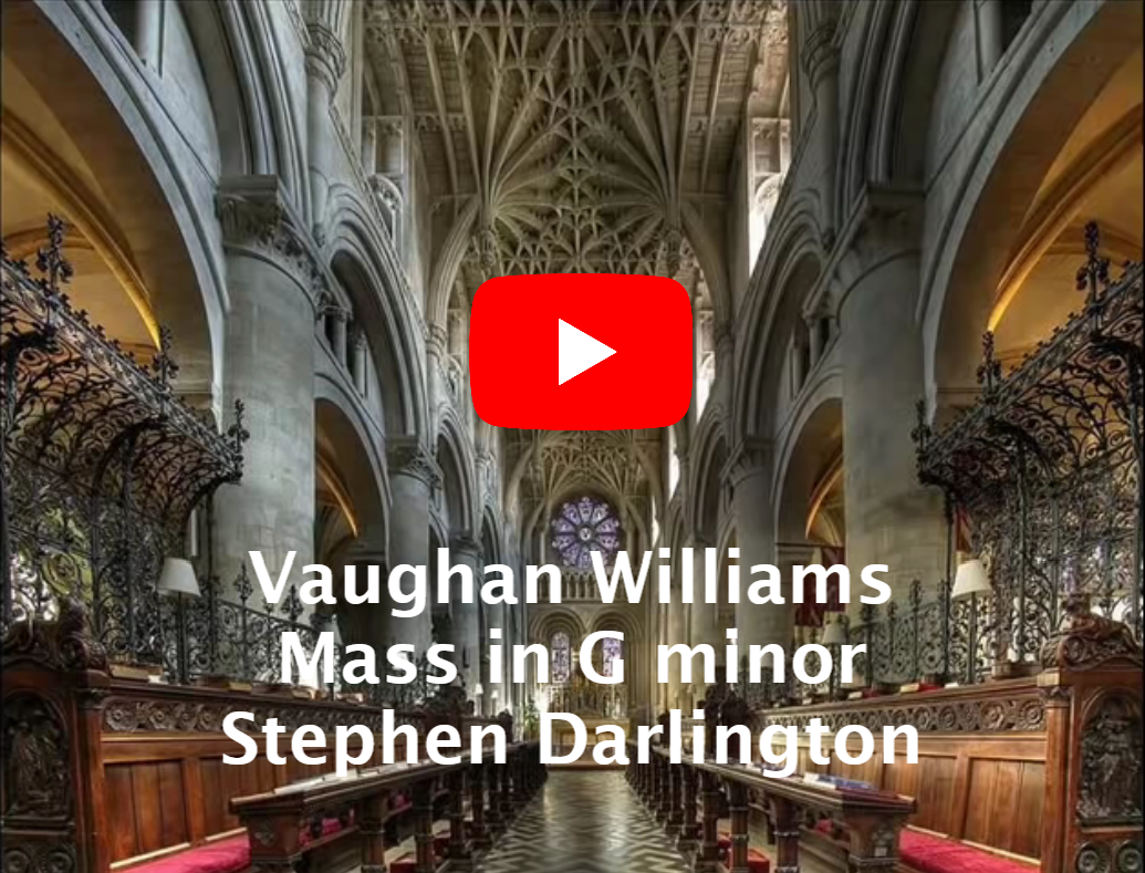 Mass in G Minor - Christ Church Cathedral Choir Oxford